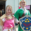 Princess Zelda and Link