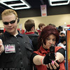 Albert Wesker and Claire Redfield
