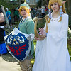 Link and Princess Zelda