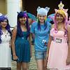 Rarity, Twilight Sparkle, Rainbow Dash, and Princess Cadance