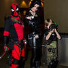 Deadpool, Domino, and Cable