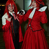 Grell Sutcliff and Angelina Durless