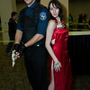 Albert Wesker and Ada Wong