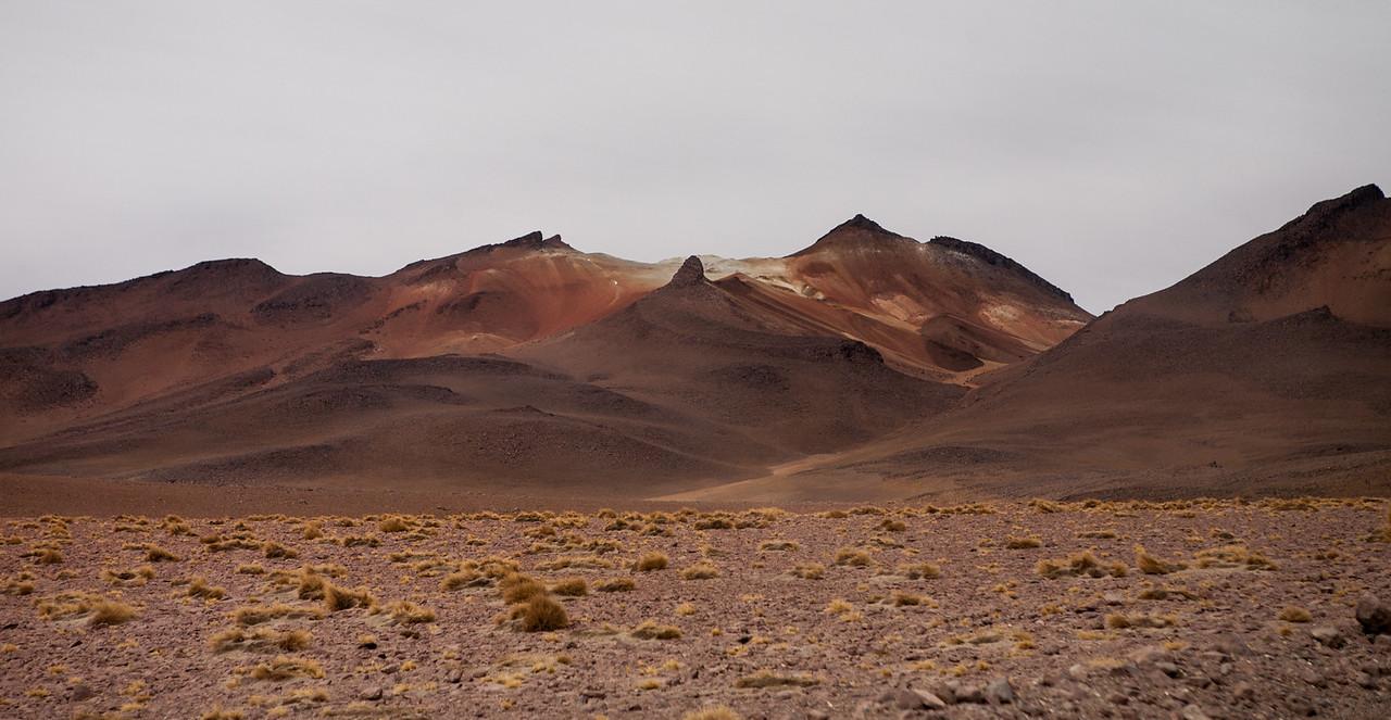 Driving through Dali desert Southwest Bolivia
