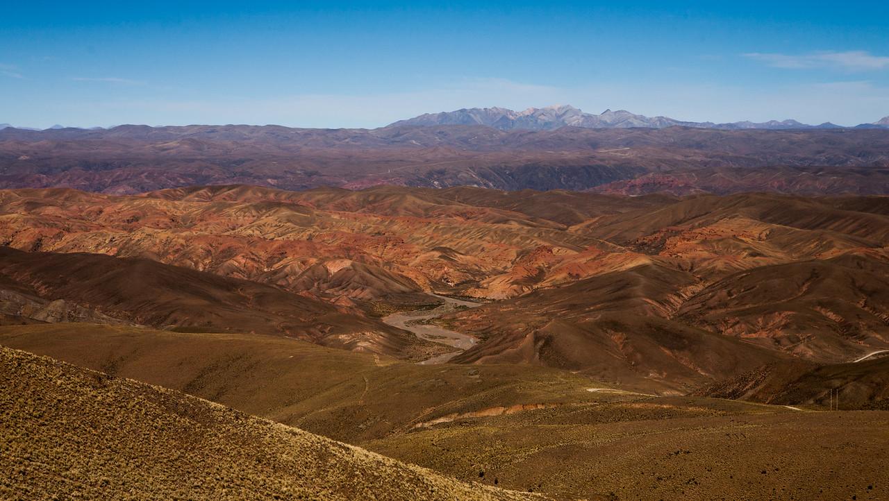 Driving through Southwest Bolivia