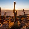 Sunrise at Salar de Uyuni, Bolivia