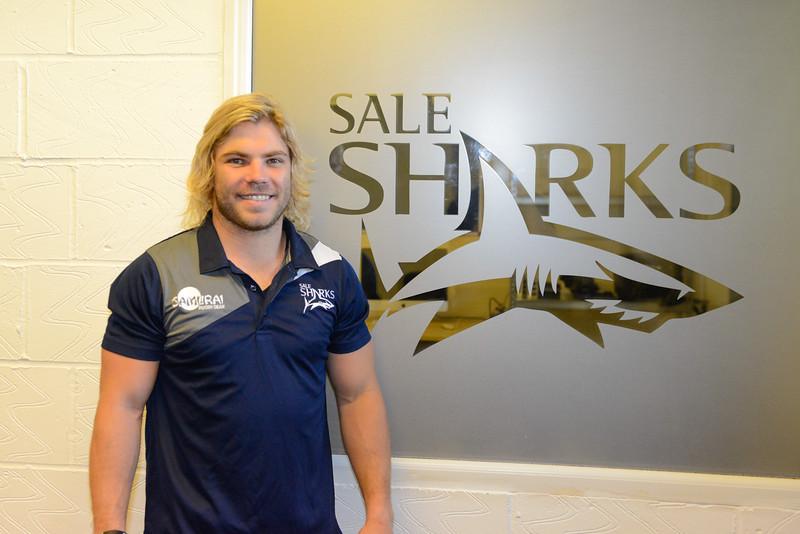 Sale Sharks Faf de Klerk