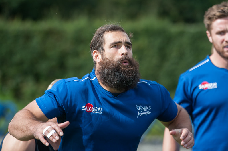 Sale Sharks Josh Strauss