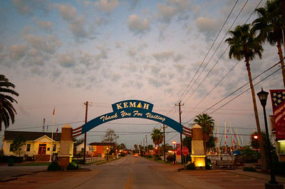 Kemah Boardwalk Sunrise