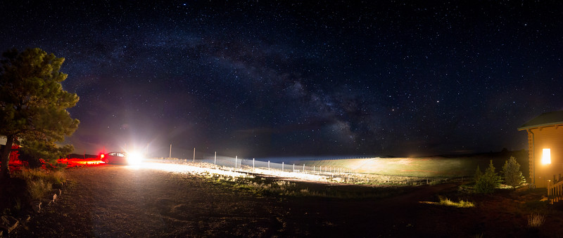 Black Hills Milky Way Panorama