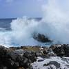 waves crashing at Ka Lae