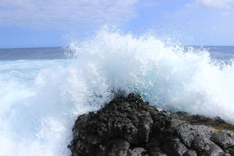 Wave Crashing at Ka Lae 2