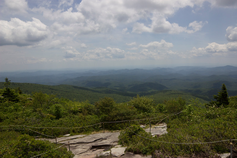Overlooking Blue Ridge