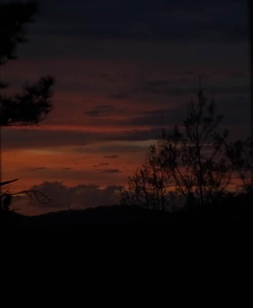 Late sunset in Alabama