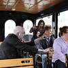 Salem, MA Zombies on the Salem Trolley. John Andrews photo