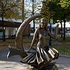 Salem, MA Zombies-Bewitched statue. John Andrews photo
