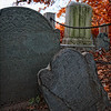 Salem, MA Burying Point Gravestones. Sid Graves photo