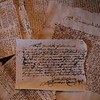 Salem, MA witch trials documents. Kate Fox photo