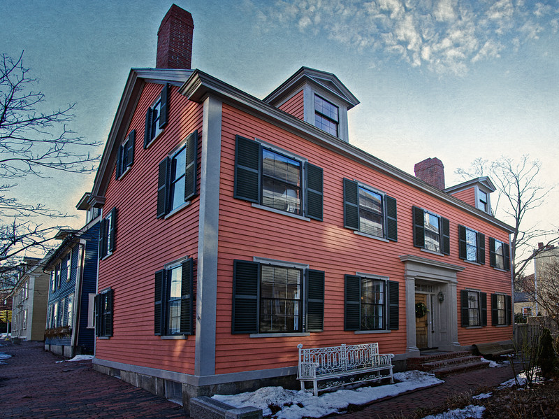 Colonial Era Architecture: Salem, Essex County, Massachusetts