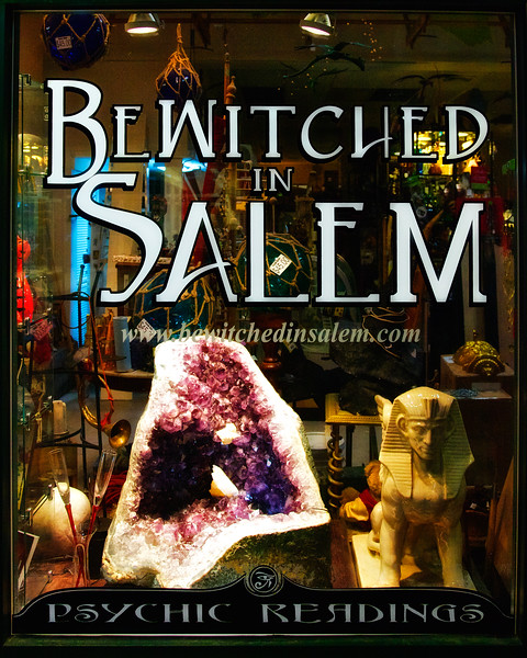Salem Tourism: Bewitched In Salem, Magic Shop in Salem, Essex County, Massachusetts