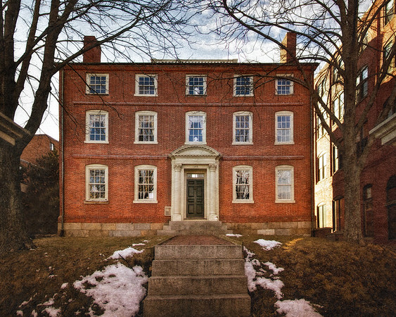 Colonial Era Architecture: The Joshua Ward House, c. 1785, Salem, Essex County, Massachusetts
