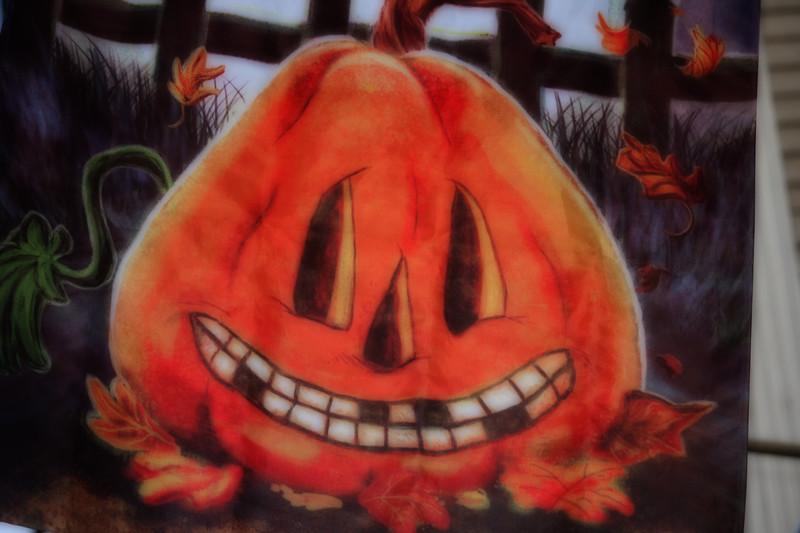 Halloween Decoration on Derby Street in Salem