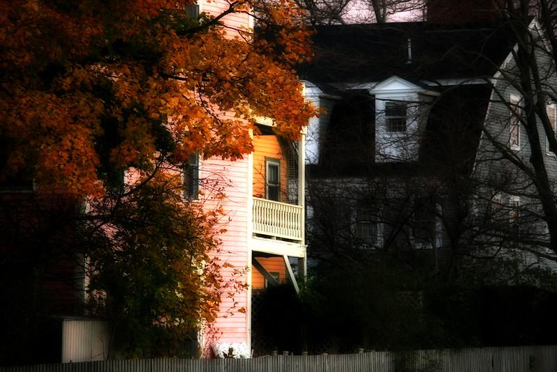 Houses on Salem Harbor