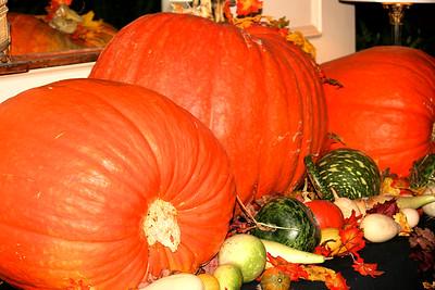 Pumpkins at the Hawthorne Hotel 2009
