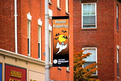 Essex Street Haunted Happenings 2009 Banner