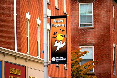 Essex Street Haunted Happenings 2009 Banner