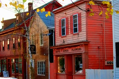 Businesses on Derby Street in Salem