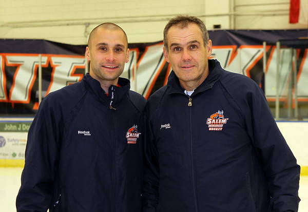 Salem State Men's Hockey Assistant Coach Andrew O'Neill, Salem State Men's Hockey Head Coach William O'Neill