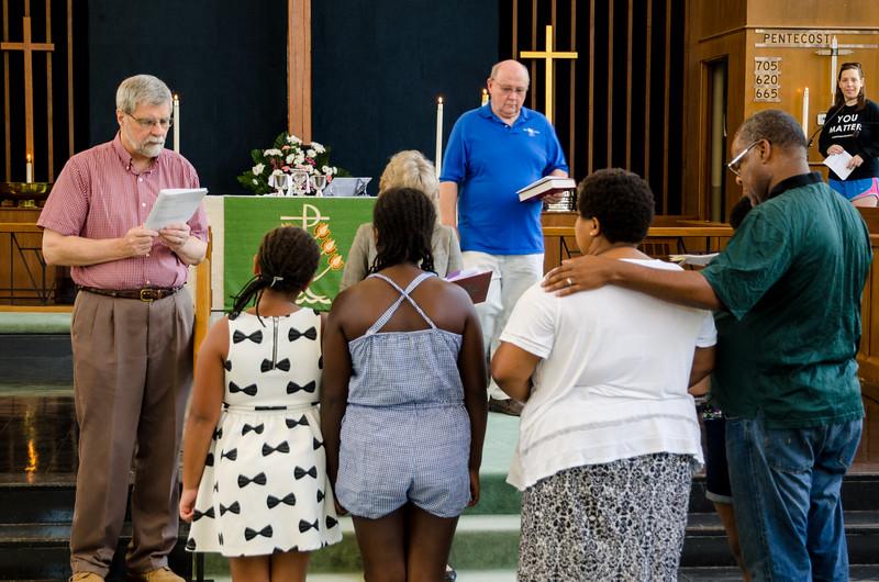 Farewell Service for Horton Family