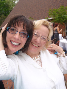 Jenny and Vicki Sheppard (Salem College Vice President for Institutional Advancement)
