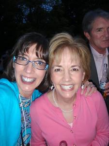 Jenny and Katherine Knapp (Salem College Dean of Admissions)