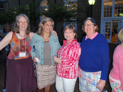 Rebecca, Jennifer, Liz, and Sarah (C'78ers)