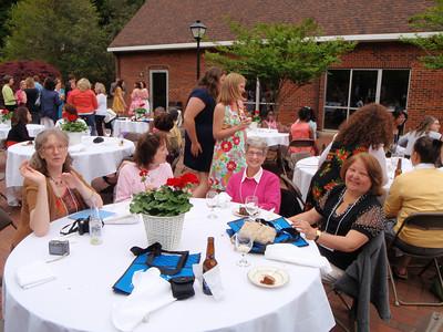 Rebecca Lasley, Susan Milstead, Susan's friend, Vickie Johnson Mendenhall