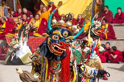 Masked Cham dance