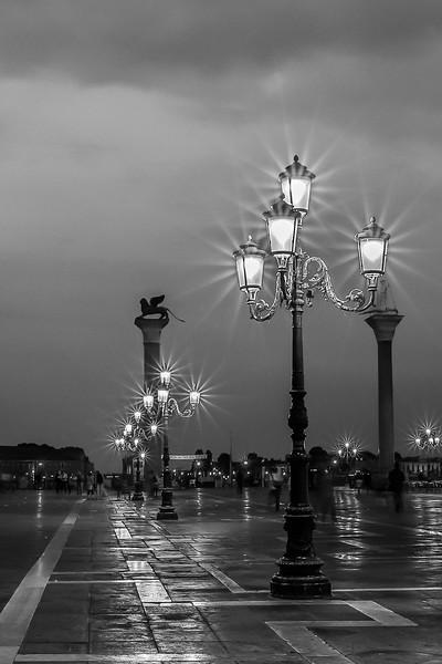 San Marco Square Lights