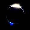 Eclipse 2017 Diamond Ring Blue Flash