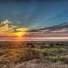 Oean Shores Sunset
