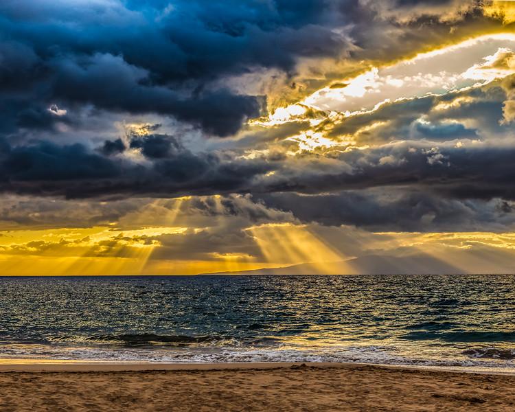 Wailea Beach Sunset