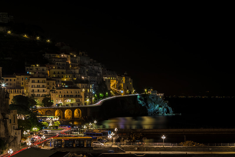 Amalfi Town Lights