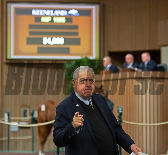 E. C. Larkin Jr. Keeneland January Horses of all ages sales on Jan. 17, 2020 Keeneland in Lexington, KY. Photo: Anne M. Eberhardt