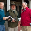 (L-R): John Henderson, Ryan Mahan, Duncan Taylor. Scenes during the Keeneland January sales on Jan. 11, 2020 Keeneland in Lexington, KY. Photo: Anne M. Eberhardt