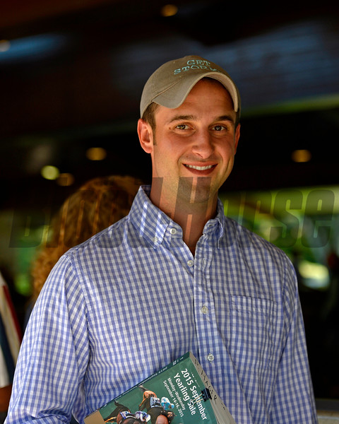 Phil Hager<br /> Daily Hips People  on Sept. 15, 2015, at Keeneland September yearling sales in Lexington, Ky.