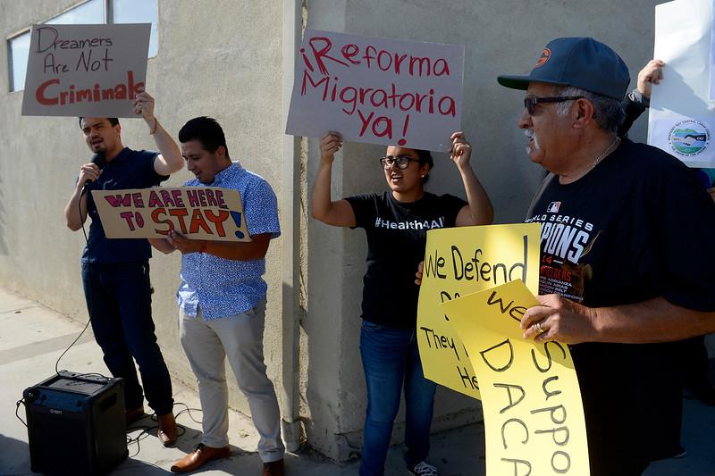 DACA Rally in Salinas