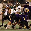 Division 4-AA CIF State Football Championship Bowl Game on Friday, Dec. 8, 2017 in Salinas.  Placer High beat Salinas High in overtime 43-42 to advance to the CIF State Final.  (Vern Fisher - Monterey Herald)