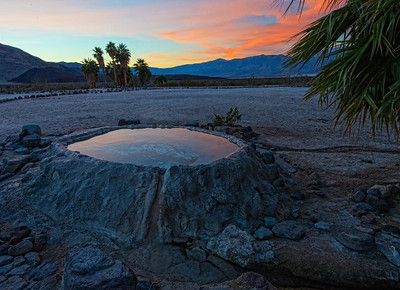 Volcano Pool Sunrise - 1