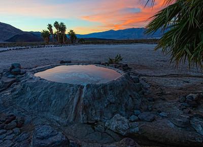 Volcano Pool Sunrise - 1